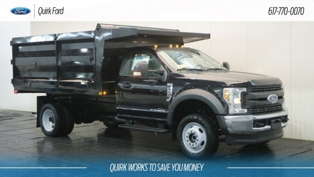 2019 F-550 Regular Cab DRW 4x4,  Rugby Landscape Dump #F109571 - photo 1