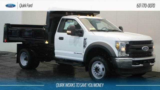 2019 F-550 Regular Cab DRW 4x4,  Rugby Dump Body #F109704 - photo 1