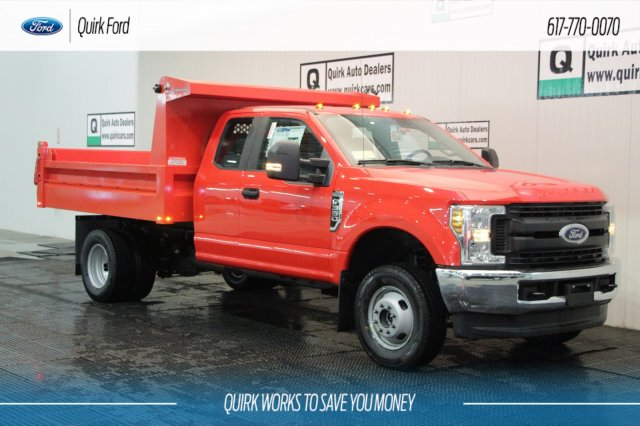 2019 F-350 Super Cab DRW 4x4,  Duramag Dump Body #F109772 - photo 1