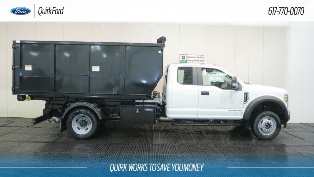 2019 F-550 Super Cab DRW 4x4,  Switch N Go Hooklift Body #F109844 - photo 3