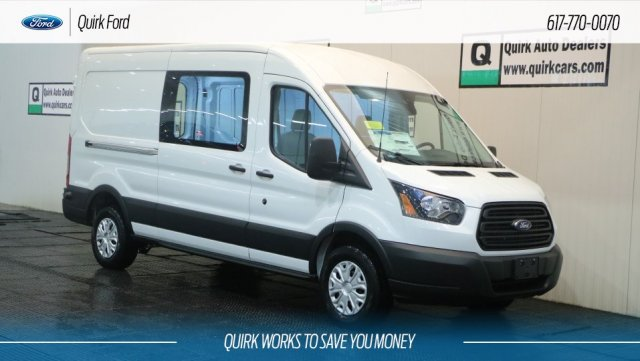 2019 Transit 250 Med Roof 4x2,  Empty Cargo Van #F109855 - photo 1