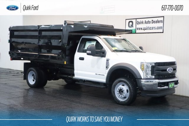 2019 F-550 Regular Cab DRW 4x4,  Rugby Landscape Dump #F200011 - photo 1