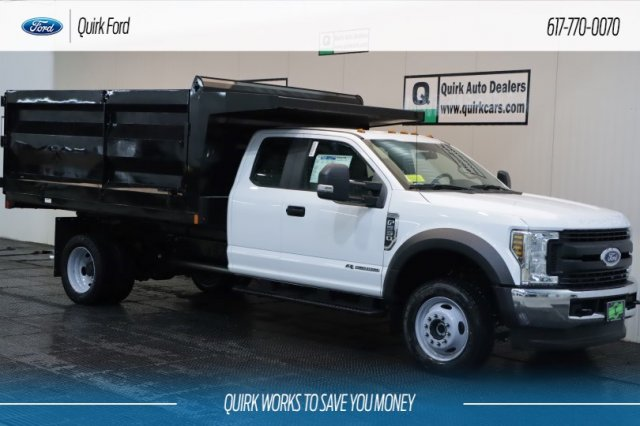 2019 F-550 Super Cab DRW 4x4,  Rugby Landscape Dump #F200131 - photo 1