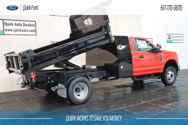 2019 F-350 Regular Cab DRW 4x4,  Rugby Dump Body #F200132 - photo 1