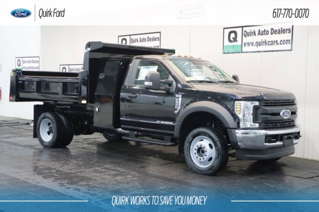 2019 F-550 Regular Cab DRW 4x4,  Rugby Dump Body #F200152 - photo 1