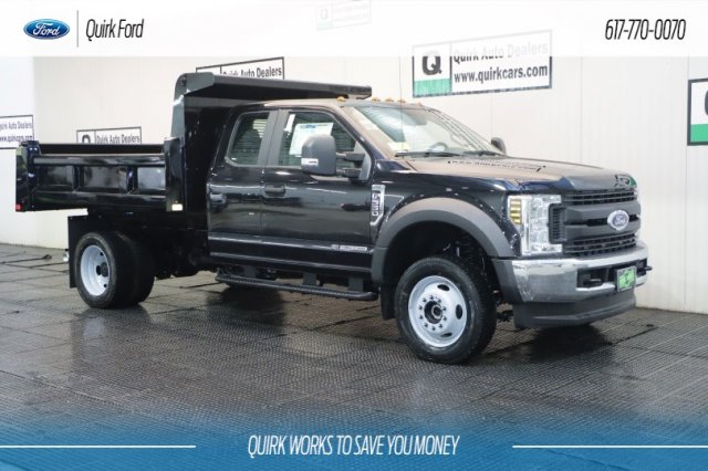 2019 F-550 Super Cab DRW 4x4,  Rugby Dump Body #F200514 - photo 1