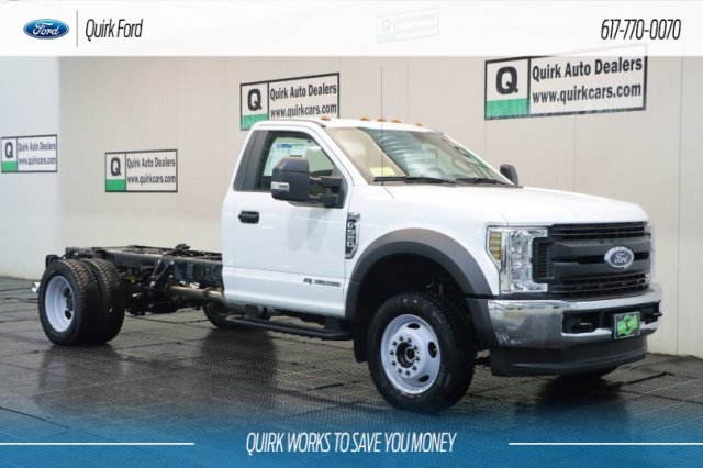 2019 F-550 Regular Cab DRW 4x4,  Cab Chassis #F200523 - photo 1