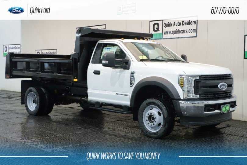 2019 Ford F-550 DRW XL 11' RUGBY ELIMINATOR DUMP BOD #F200544 - photo 1