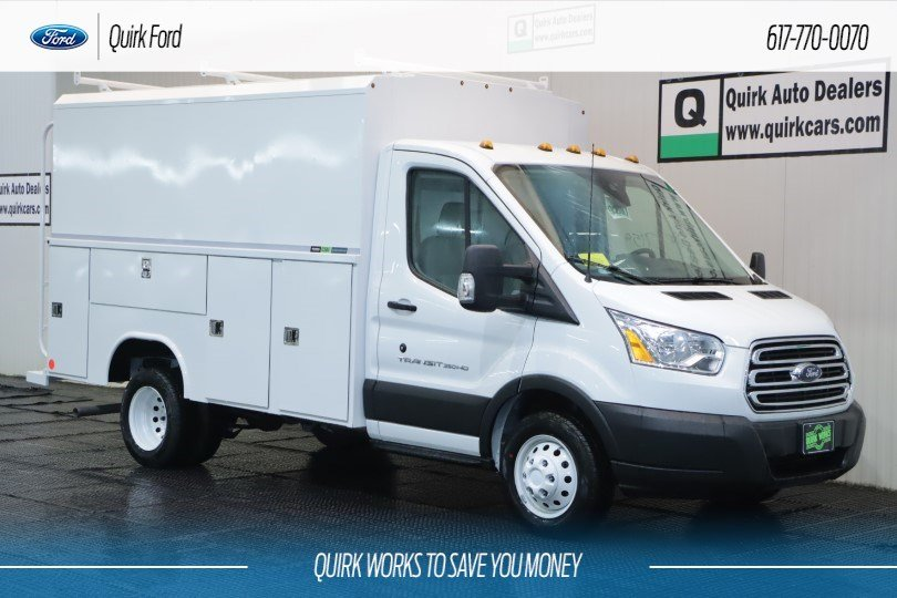 2019 Ford Transit Cutaway W/ READING ALUMINUM SERVICE BODY #F200804 - photo 1
