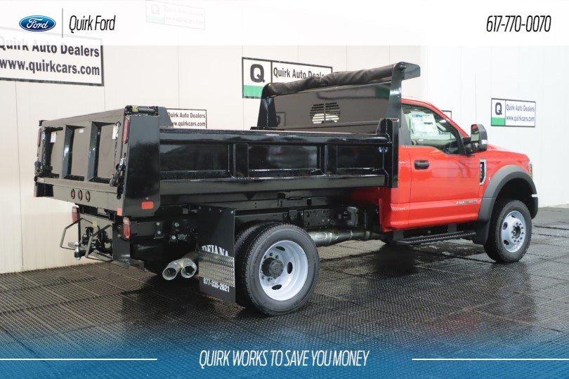 Ford Dealers Ma >> 2019 F 550 Regular Cab Drw 4x4 Rugby Eliminator Lp Steel Dump Body Stock F200989