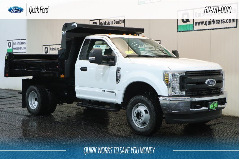 2019 Ford F-350 Regular Cab DRW 4x4, Rugby Dump Body #F201015 - photo 1
