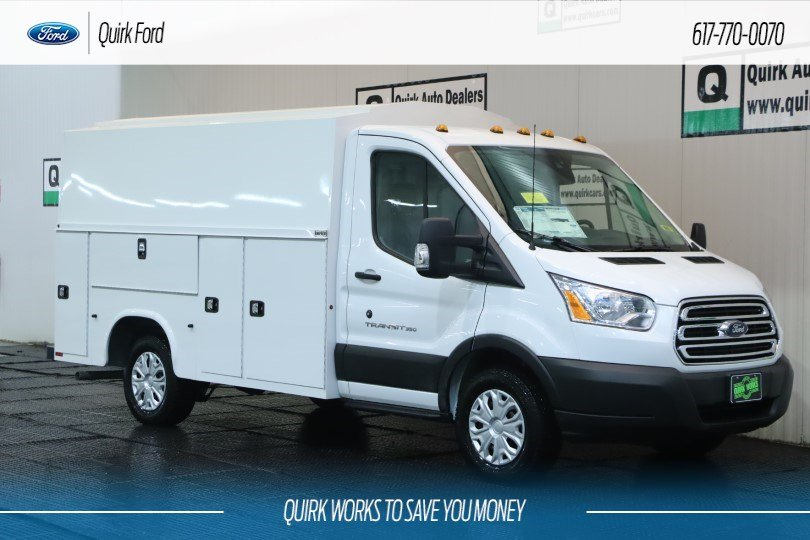 2019 Ford Transit Cutaway Base KNAPHEIDE SRW UTILITY VAN #F201301 - photo 1