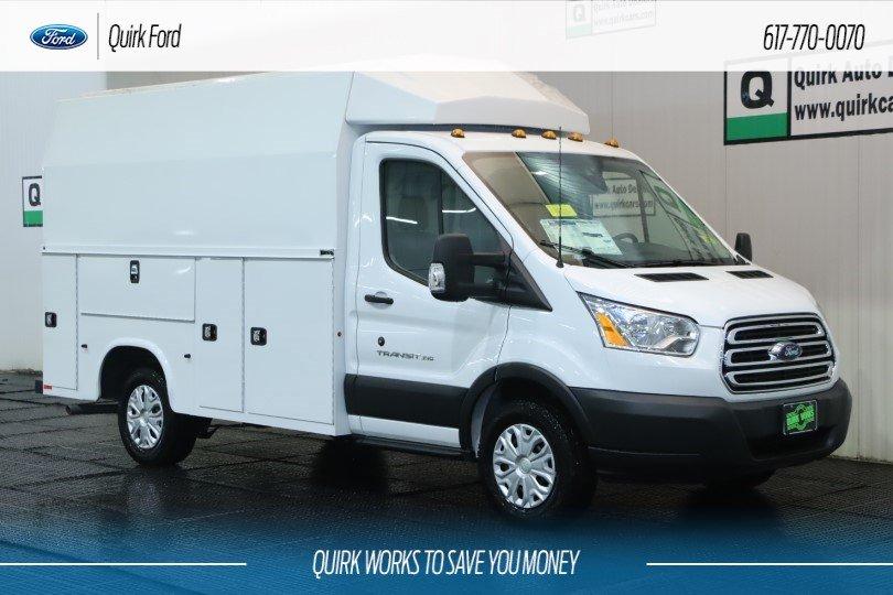 2019 Ford Transit Cutaway Base KNAPHEIDE SRW UTILITY VAN #F201302 - photo 1