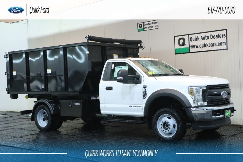 2019 Ford F-550 Regular Cab DRW 4x4, Switch N Go Hooklift Body #F201307 - photo 1
