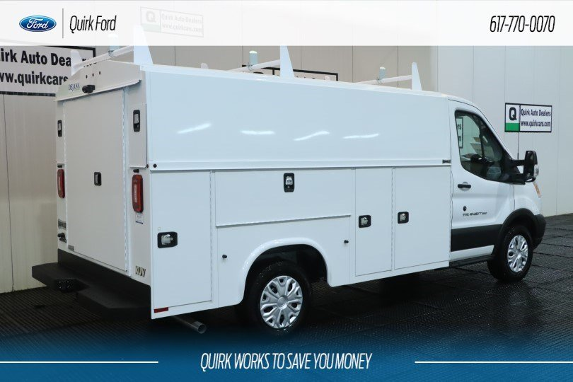 2019 Ford Transit Cutaway Base KNAPHEIDE SRW UTILITY VAN #F201311 - photo 1
