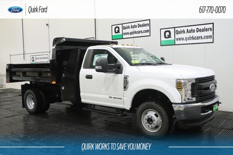 2019 Ford F-350 Regular Cab DRW 4x4, Rugby Dump Body #F201458 - photo 1