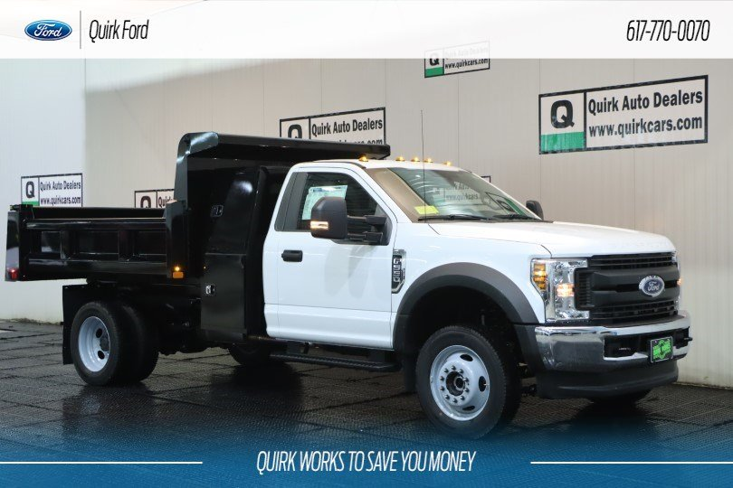 2019 Ford F-550 DRW XL 9' RUGBY 3-4 YARD LP DUMP BOD #F201464 - photo 1