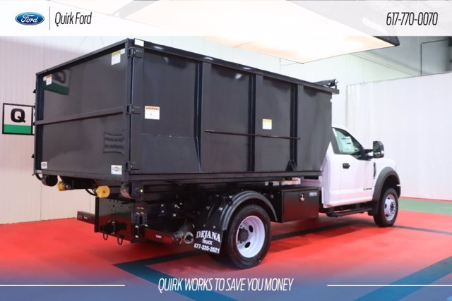 2019 Ford F-550 Regular Cab DRW 4x4, Switch N Go Hooklift Body #F201558 - photo 1