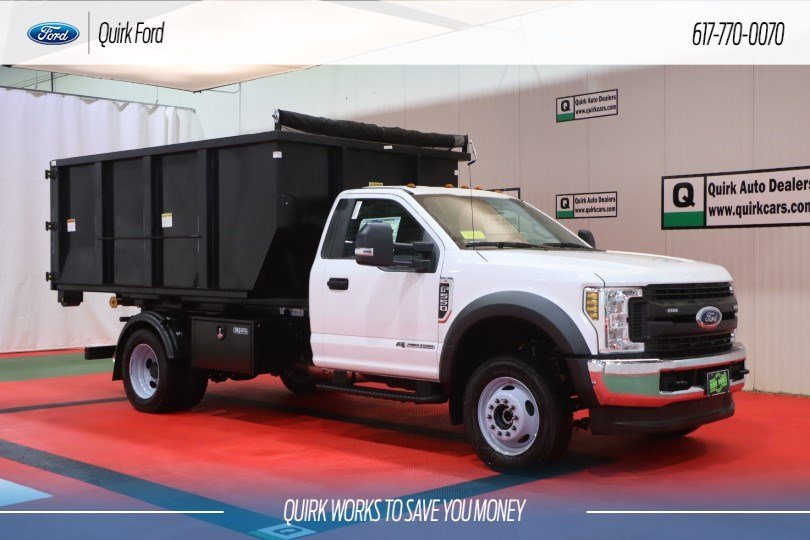 2019 Ford F-550 Regular Cab DRW 4x4, Switch N Go Hooklift Body #F201558 - photo 1