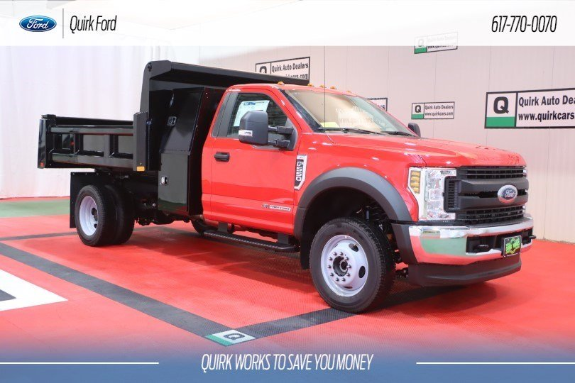 2019 Ford F-550 DRW XL RUGBY 9' 3-4 YARD ELIMINATOR  #F201564 - photo 1