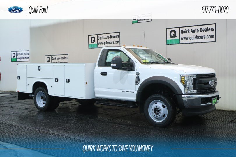 2019 Ford F-550 DRW XL KNAPHEIDE SERVICE UTILITY BOD #F201569 - photo 1