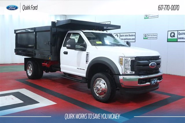 2019 Ford F-550 Regular Cab DRW 4x4, Iroquois Landscape Dump #F201864 - photo 1