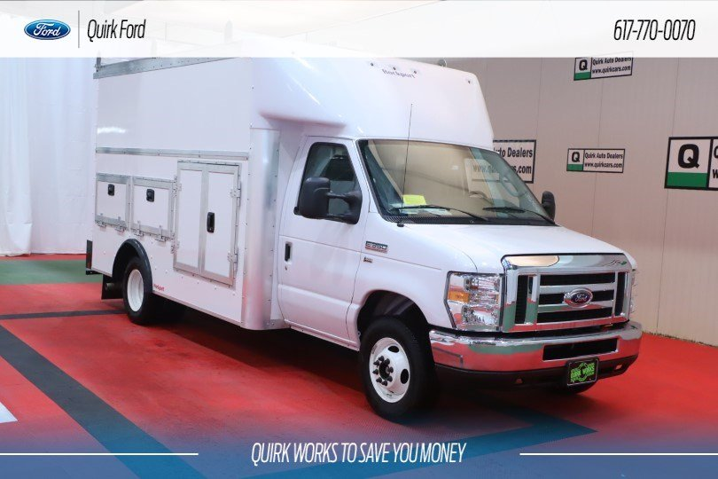 2019 Ford Cutaway E-350 DRW 12' Workport Body #F202038 - photo 1