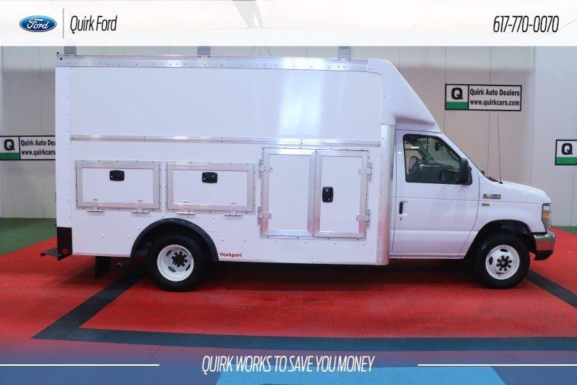 2019 Ford Cutaway E-350 DRW 12' Workport Body #F202038 - photo 1