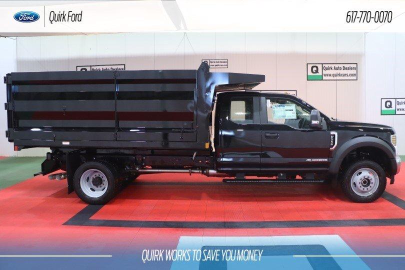 2019 Ford F-550 DRW XL RUGBY 12' STANDARD DUTY STAKE #F202040 - photo 1