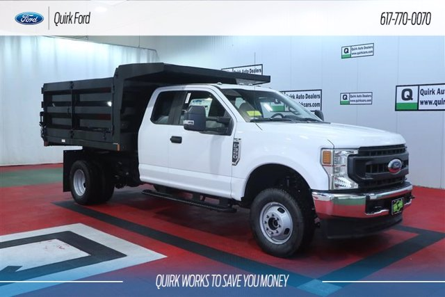 2020 Ford F-350 Super Cab DRW 4x4, Rugby Landscape Dump #F202845 - photo 1