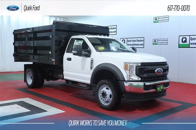 2020 Ford F-450 Regular Cab DRW 4x4, Rugby Landscape Dump #F202848 - photo 1