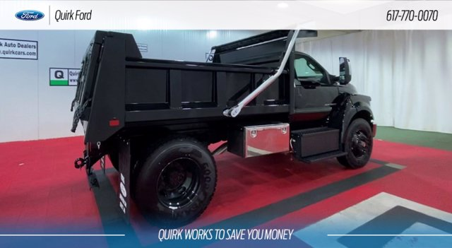 2021 Ford F-650 Regular Cab DRW 4x2, Rugby Dump Body #F203080 - photo 1