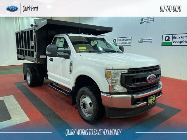 2020 Ford F-350 Regular Cab DRW 4x4, Duramag Landscape Dump #F203296 - photo 1