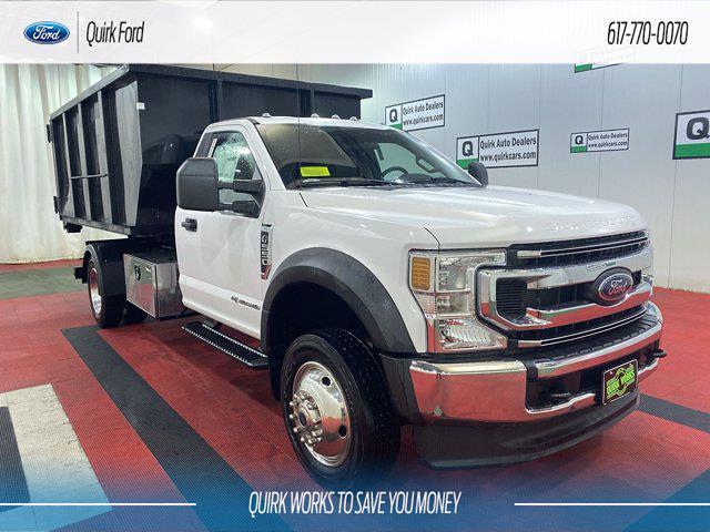 2021 Ford F-550 Regular Cab DRW 4x4, Switch N Go Hooklift Body #F203905 - photo 1