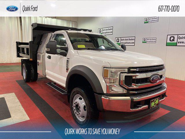 2021 Ford F-550 Regular Cab DRW 4x4, Rugby Dump Body #F204204 - photo 1
