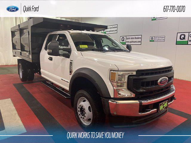 2020 Ford F-550 Super Cab DRW 4x4, Rugby Landscape Dump #F204215 - photo 1