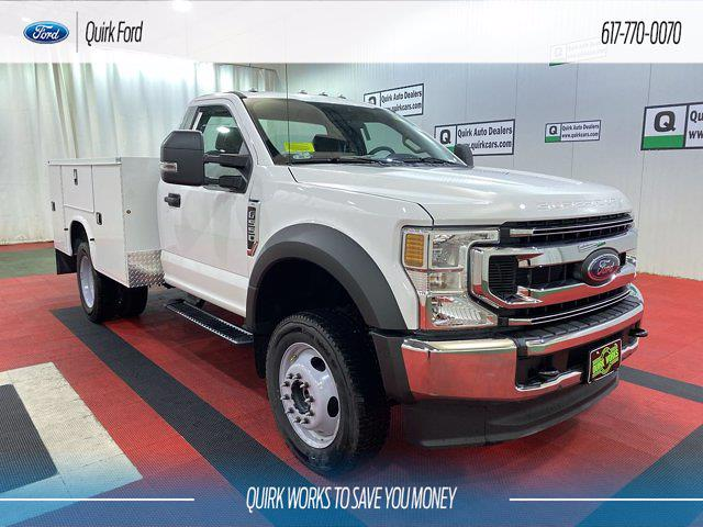 2021 Ford F-550 Regular Cab DRW 4x4, Knapheide Service Body #F204576 - photo 1
