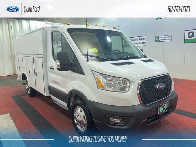 2021 Ford Transit 350 4x2, Cutaway #F204660 - photo 1
