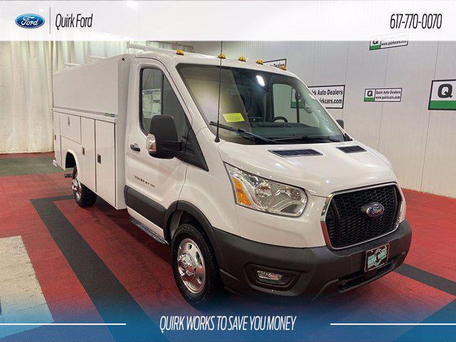 2021 Ford Transit 350 4x2, Cutaway #F204665 - photo 1