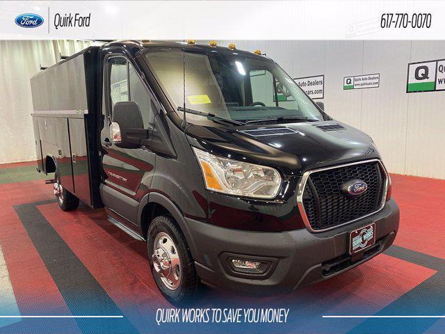 2021 Ford Transit 350 4x2, Cutaway #F204666 - photo 1