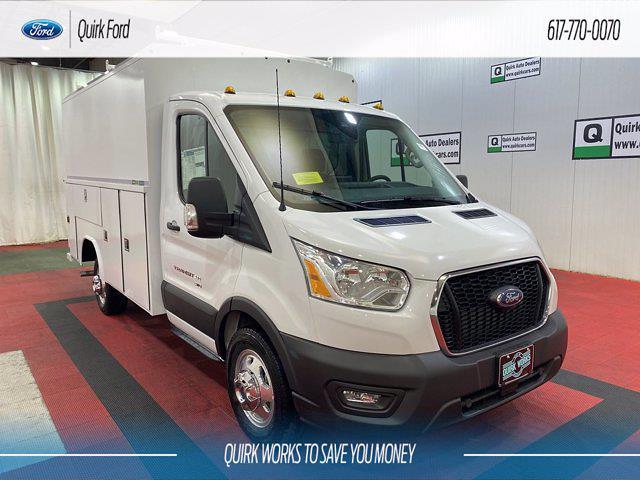 2021 Ford Transit 350 AWD, Cutaway #F204668 - photo 1