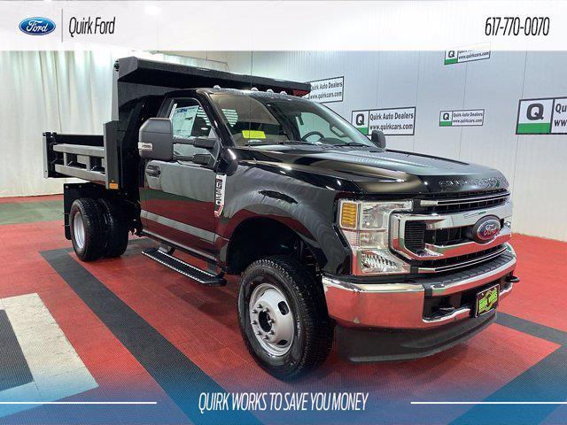2021 Ford F-350 Regular Cab DRW 4x4, Rugby Dump Body #F204678 - photo 1