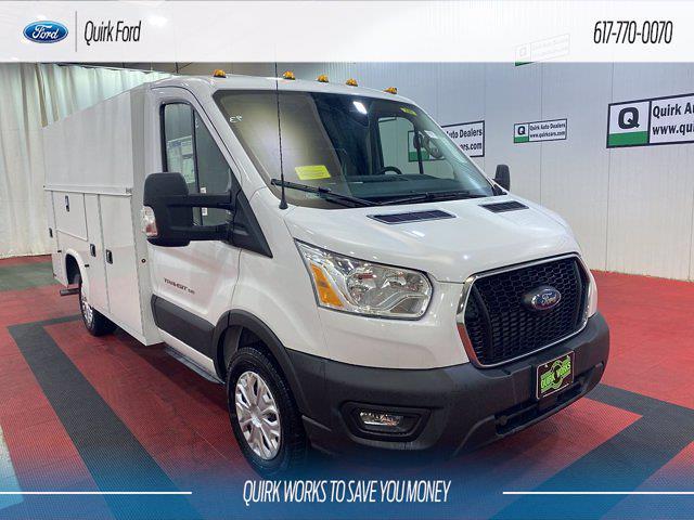 2021 Ford Transit 350 4x2, Knapheide Service Utility Van #F204931 - photo 1