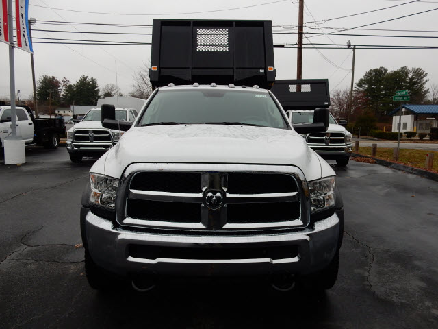 2016 Ram 5500 Crew Cab DRW 4x4, Knapheide Platform Body #63917 - photo 9