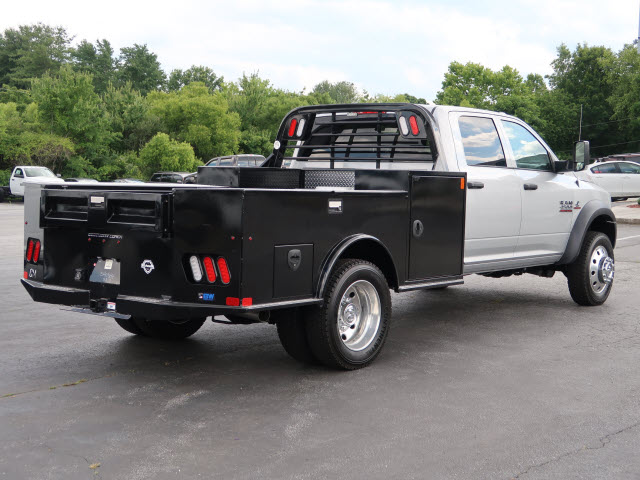2017 Ram 4500 Crew Cab DRW 4x4, CM Truck Beds Platform Body #73926 - photo 2