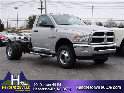2018 Ram 3500 Regular Cab DRW 4x4, Cab Chassis #83637 - photo 1