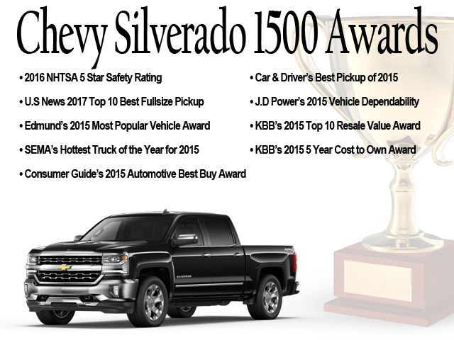2017 Silverado 1500 Double Cab 4x4 Pickup #71696 - photo 21