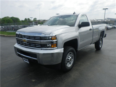 2017 Silverado 2500 Regular Cab 4x4 Pickup #72937 - photo 4