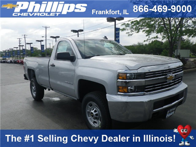 2017 Silverado 2500 Regular Cab 4x4 Pickup #72937 - photo 1