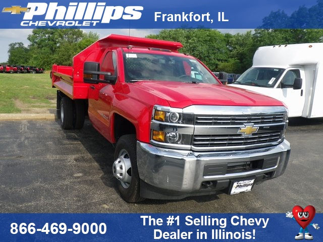2017 Silverado 3500 Regular Cab DRW 4x4, Knapheide Drop Side Dump Bodies Dump Body #73361 - photo 1
